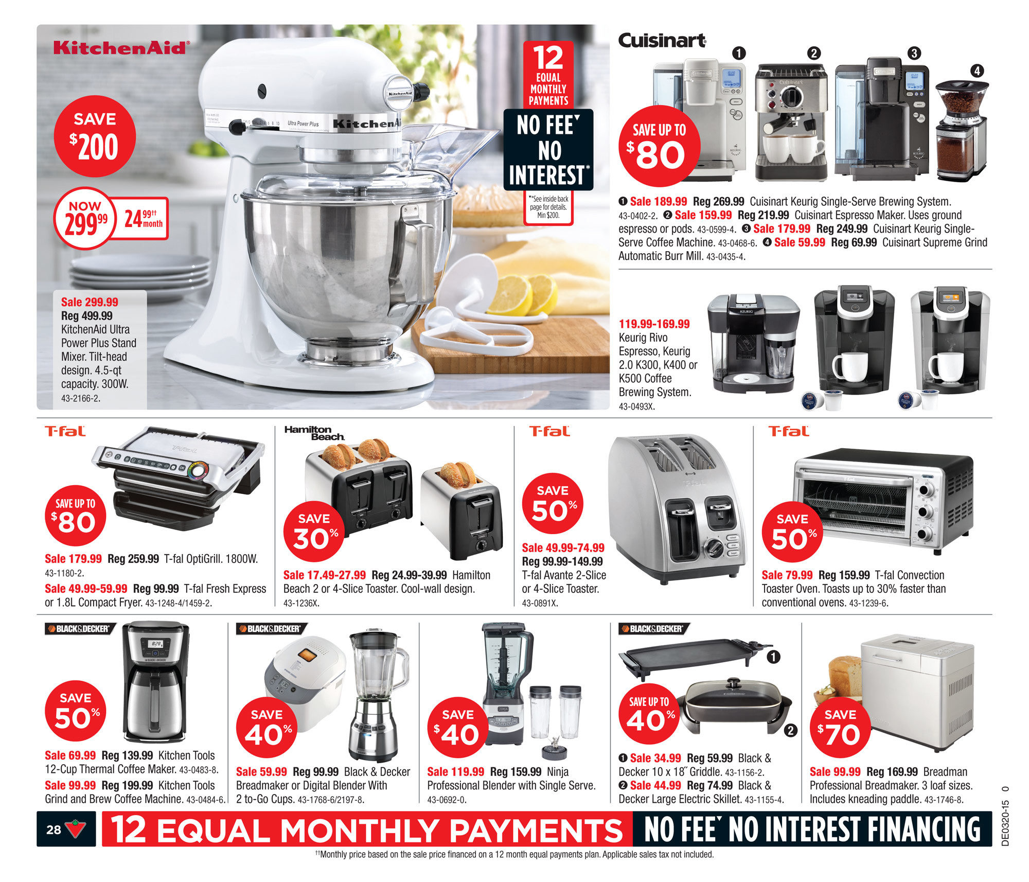 Red Coffee Maker Canadian Tire : Canadian Tire Weekly Flyer - Weekly Flyer - May 15 21 - RedFlagDeals.com