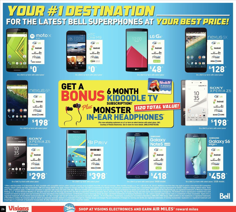 Visions Electronics Weekly Flyer - Weekly - Final Countdown! (EN ...