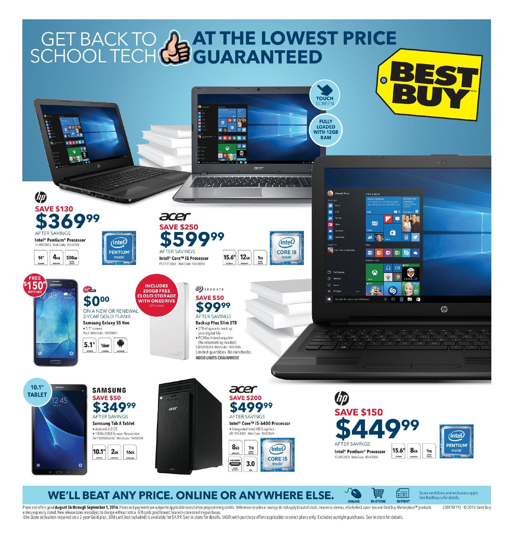 Best Buy Weekly Flyer Get Back To School Tech Aug 26 Phone Jack Wiring Question For Voip Redflagdealscom Forums Sep 1