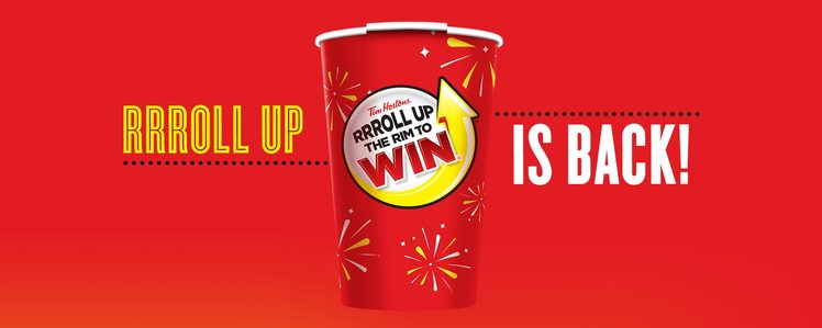 Tim Hortons' Roll Up the Rim to Win is Back for 2017