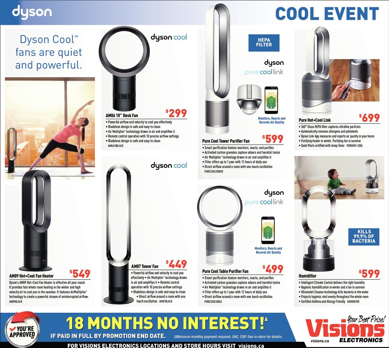Visions Electronics Weekly Flyer - Weekly - Playoff Savings