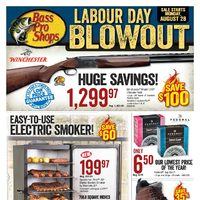 - Vaughan & Alberta - Labour Day Blowout Flyer