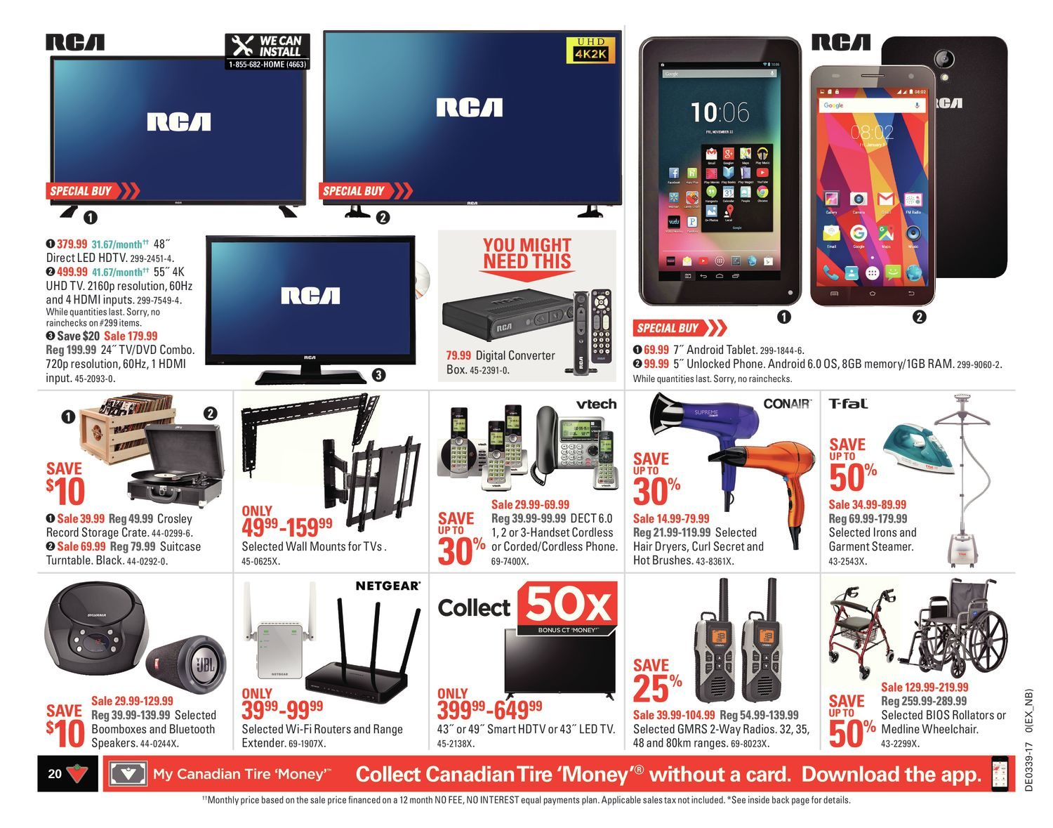 Canadian Tire Weekly Flyer Weekly Start Up Fall Sep 22 28  # Meuble De Tv Canadian Tire