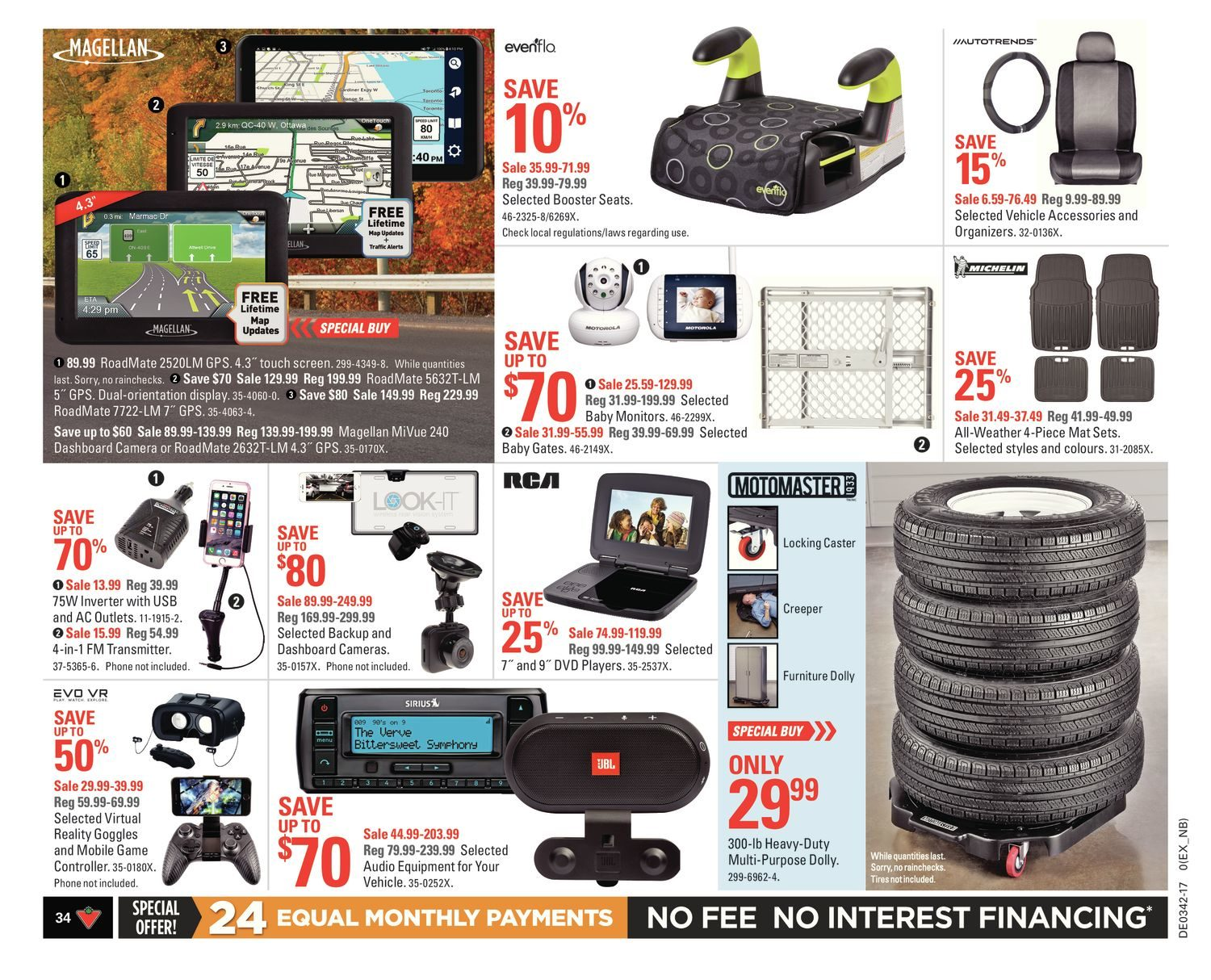 Canadian Tire Weekly Flyer Fall Change Up Oct 13 19 Junior Electronics Projects Kit Walmart Circuit Kits