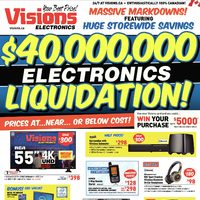 - Weekly - $40,000,000 Electronics Liquidation! Flyer