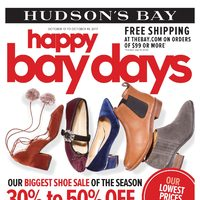 - Weekly - Happy Bay Days Flyer