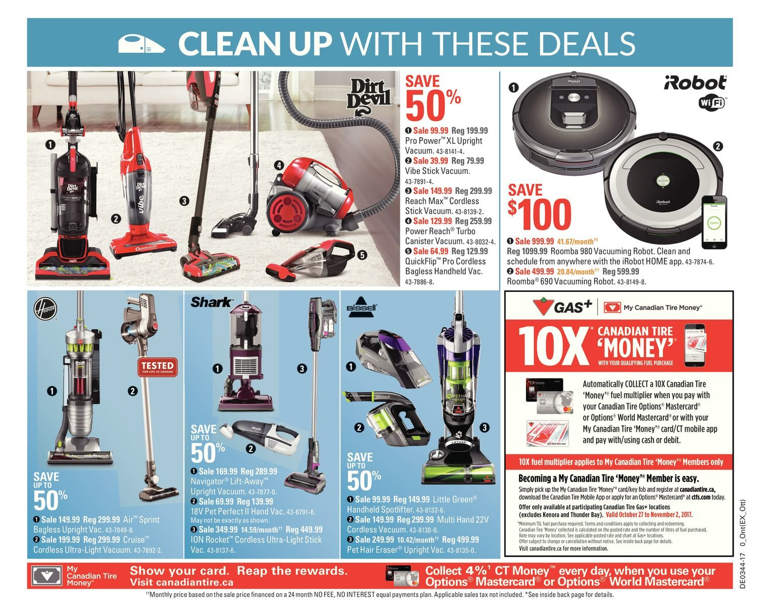Canadian Tire Weekly Flyer - Weekly - All About Fall - Oct 27 – Nov ...