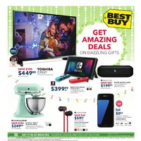 Best Buy - Weekly - Get Amazing Deals on Dazzling Gifts Flyer