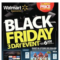 - Supercentre - Black Friday Canada 3-Day Event Flyer