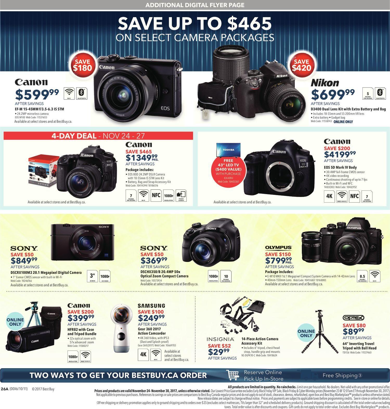 Best Buy Weekly Flyer - Weekly - Black Friday Sale - Nov 24 – 30 -  RedFlagDeals.com c126149e38ffc