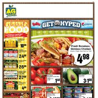 AG Foods - Weekly Specials - Get Hyped Flyer