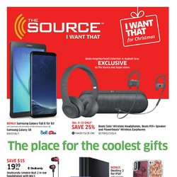 The Source - The Place for the Coolest Gifts Flyer