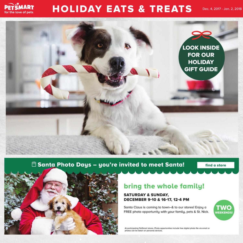 PetSmart Weekly Flyer Holiday Eats & Treats Dec 4 – Jan 2