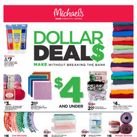 Michaels - Weekly - Dollar Deals Flyer