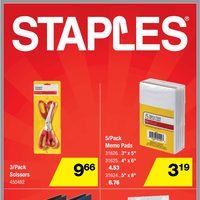 Staples - Weekly - Rock Bottom Prices Flyer