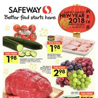Safeway - Weekly - Happy Chinese New Year 2018 Flyer