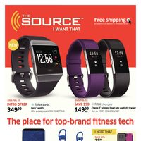 - 3 Weeks of Savings - The Place for Top-Brand Fitness Tech Flyer
