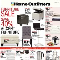 Home Outfitters - Weekly - Furniture Sale Flyer