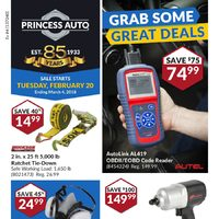 Princess Auto - Grab Some Great Deals Flyer
