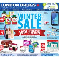 London Drugs - 6 Days of Savings - Winter Sale Flyer