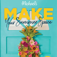 Michaels - Make Your Summer Space Flyer