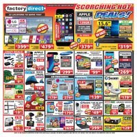Factory Direct - Weekly - Scorching Hot Deals! Flyer