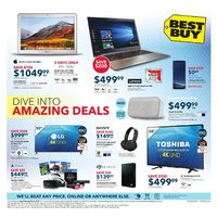 Best Buy - Weekly - Dive Into Amazing Deals Flyer