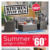 Kitchen Stuff Plus - Summer Savings Flyer