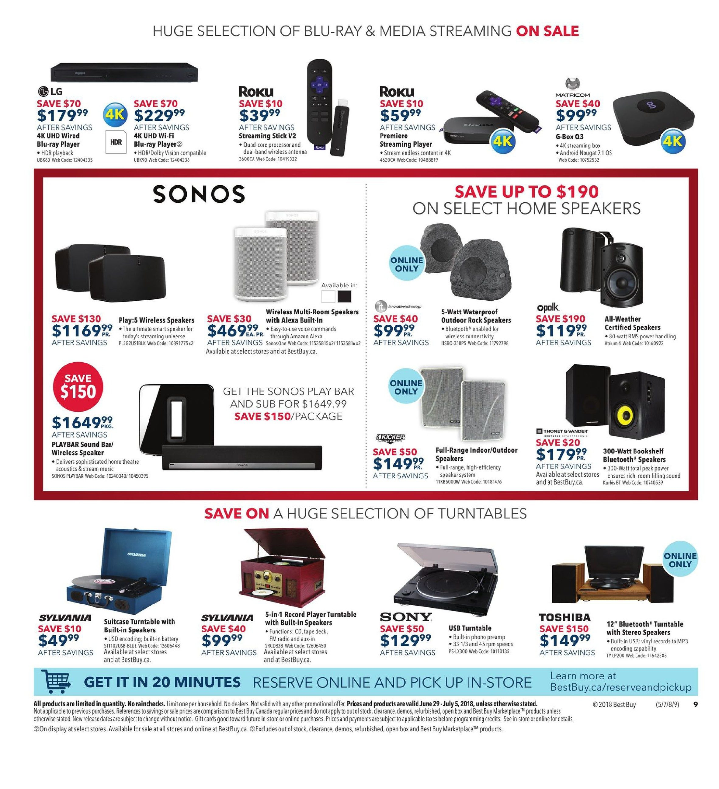 Best Buy Weekly Flyer - Weekly - Boxing Day In July Sale