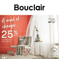 Bouclair - Weekly - A Wind Of Change Flyer
