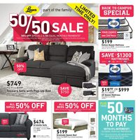 - Part of the Family - 50/50 Sale Flyer