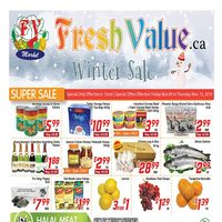 Fresh Value - Weekly Specials - Winter Sale Flyer