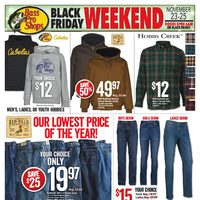 Bass Pro Shops - Vaughan Only - Black Friday Weekend Flyer