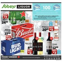 Sobeys - Liquor - Cheers to Great Savings! Flyer