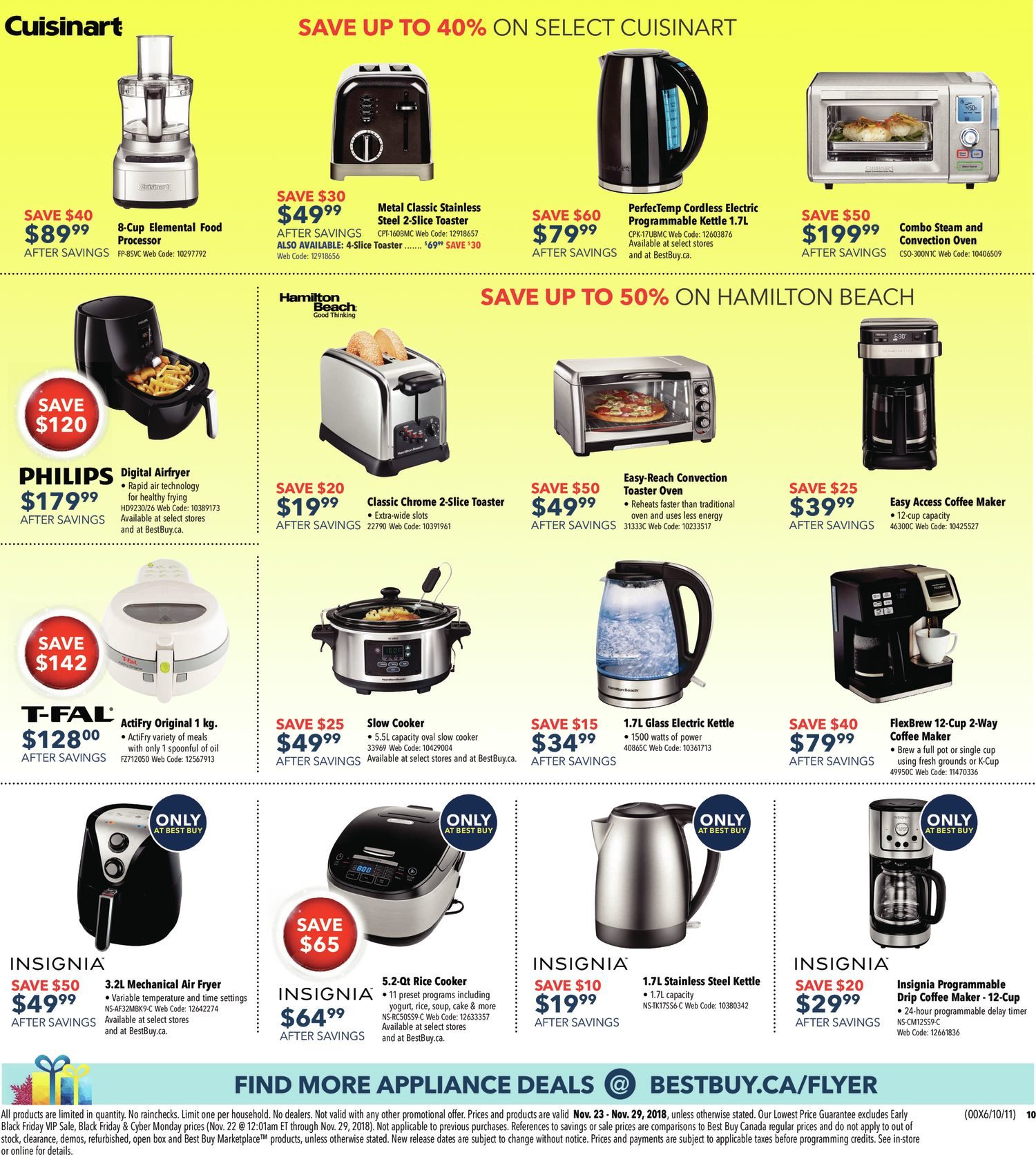 Best Buy Weekly Flyer - Weekly - Black Friday Sale - Nov 23