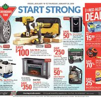 Canadian Tire - Weekly - Start Strong Flyer