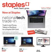 Staples - Weekly - Work. Learn. Grow Flyer