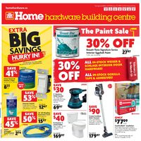 Home Hardware - Building Centre - The Paint Sale Flyer