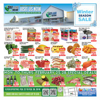 Skyland Foodmart - Weekly - Winter Season Sale Flyer