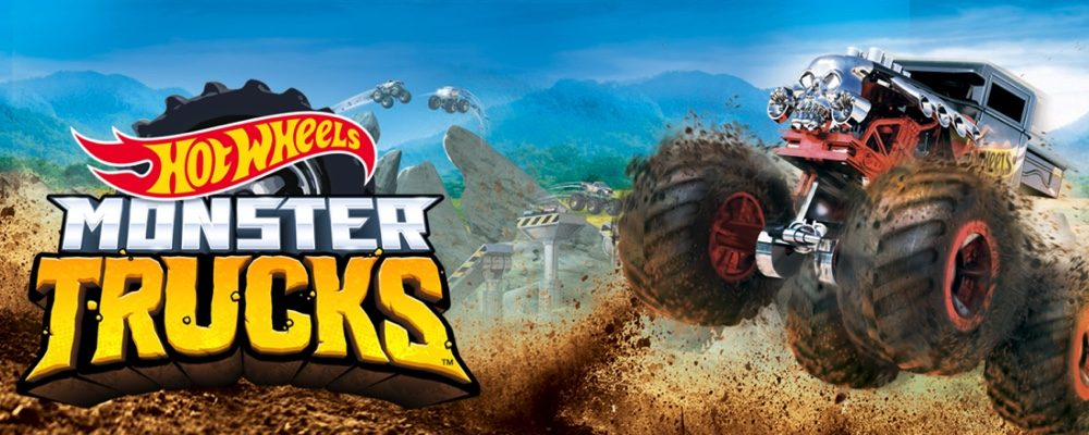 Hot Wheels New Monster Trucks Series Offers Large Scale Fun in a Small Size