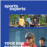 Sports Experts - Your Bike Destination - Spring 2019 Flyer