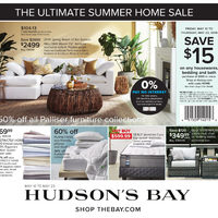 The Bay - The Ultimate Summer Home Sale Flyer