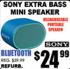 Sony Extra Bass Mini Speaker