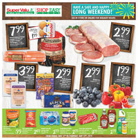 Shop Easy Foods - Weekly Specials - Happy Long Weekend! Flyer