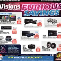 Visions Electronics - Weekly - Furious Savings Online Flyer