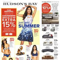 The Bay - Weekly - Just Add Summer Flyer