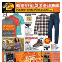 Bass Pro Shops - Fall Preview Sale Flyer