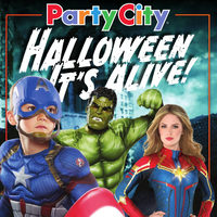 Party City - Halloween, It's Alive! Flyer
