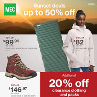 MEC - September Clearance Flyer