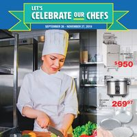 Wholesale Club - Let's Celebrate Our Chefs Flyer